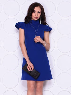 Сукня кольору електрик | 5094065