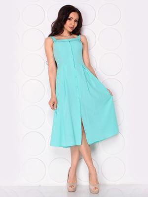Платье ментолового цвета | 5111330