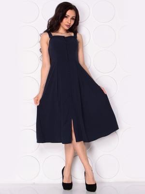 Платье темно-синее | 5111331