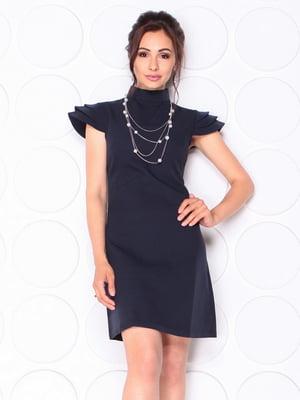 Платье темно-синее | 5120233