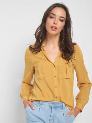 Рубашка желтая | 5163458