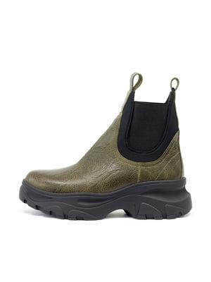 Ботинки зеленые | 5164188