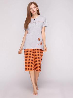Піжама: футболка і бриджі   4356887