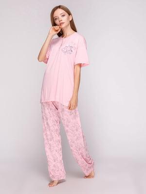 Пижама: футболка и брюки | 5159281