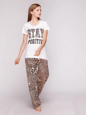 Пижама: футболка и брюки | 5159224