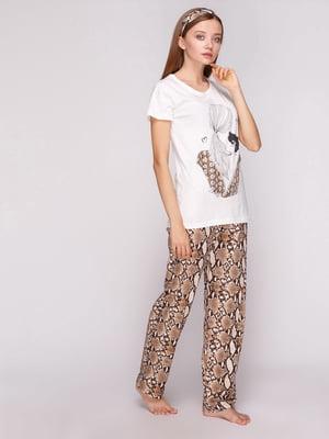 Пижама: футболка и брюки | 5159223