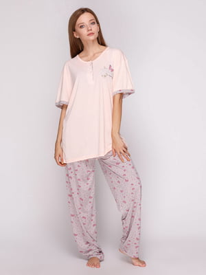 Пижама: футболка и брюки | 5159283