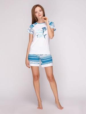 Піжама: футболка і шорти | 5159225