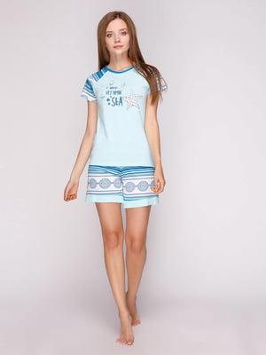 Піжама: футболка і шорти | 5159228