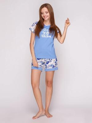 Піжама: футболка і шорти | 5159214