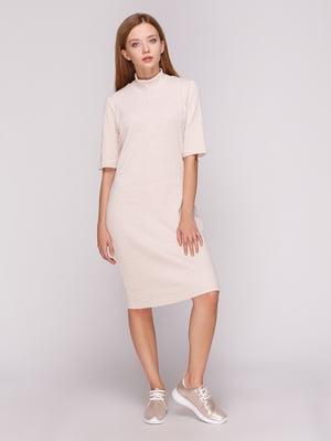 Платье бежевое | 5163594