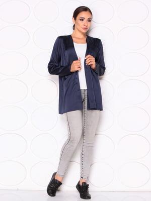 Блуза темно-синяя   5165102