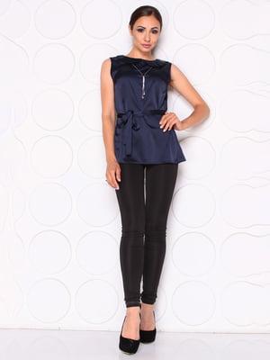 Блуза темно-синяя | 5165162