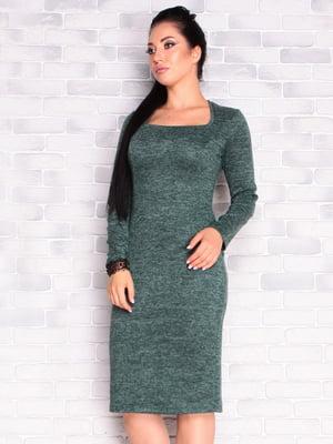 Сукня темно-смарагдового кольору | 5165237