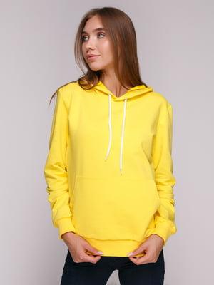 Худи желтая | 4980596