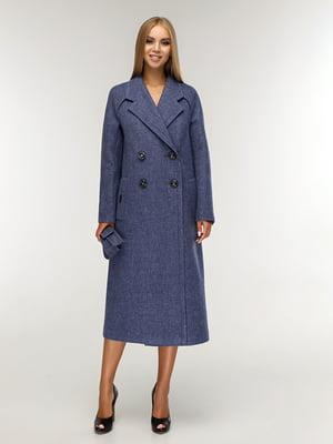 Пальто синее | 5165666