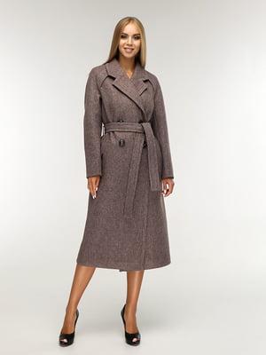 Пальто коричневе | 5165670