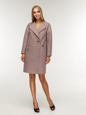 Пальто коричневе | 5165672