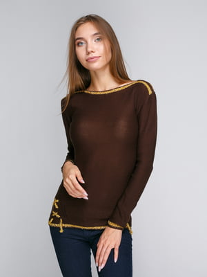 Джемпер коричневый | 5163046