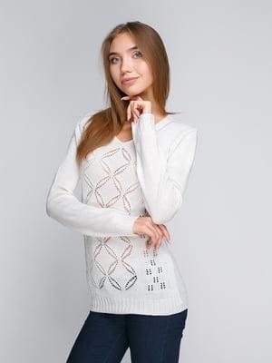 Пуловер белый | 5163092