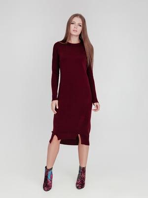 Сукня бордова | 5166367