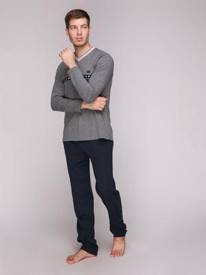 Піжама: лонгслів та штани | 5159291