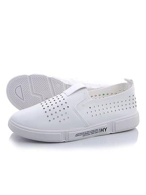 Слипоны белые   5165927