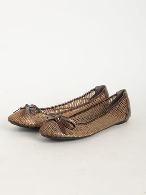 Балетки коричневые | 5165950