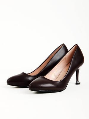 Туфли темно-бордовые | 5166027