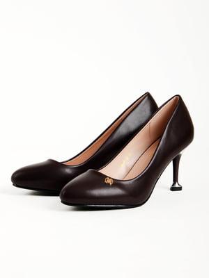 Туфли темно-бордовые | 5166032