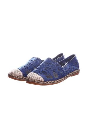 Эспадрильи синие | 5166129