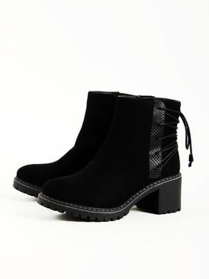 Черевики чорні | 5166209
