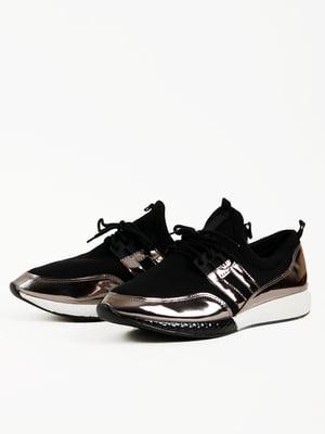 Кросівки чорно-бронзового кольору | 5166218