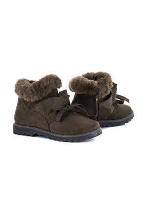 Ботинки коричневые   5166253