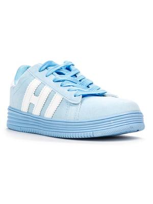 Кроссовки голубые | 5165469
