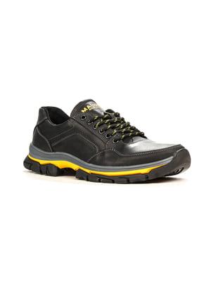 Кросівки чорно-жовті | 5165029