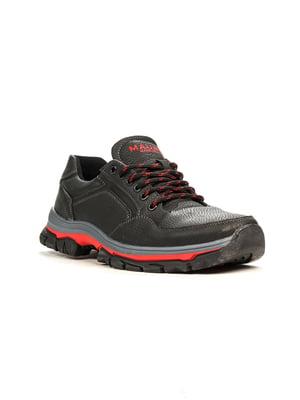 Кросівки чорно-червоні | 5165037