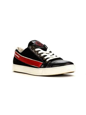 Кеды черно-красные | 5165035