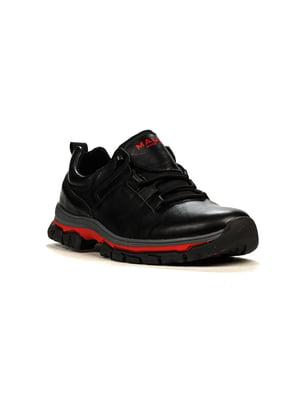 Кроссовки черно-красные | 5165026