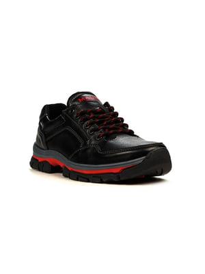 Кроссовки черно-красные | 5165031
