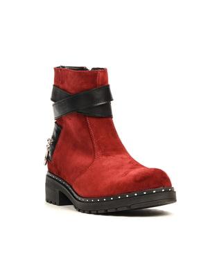 Ботинки цвета марсала | 5167239