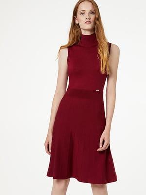 Платье бордовое | 5152578