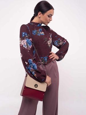 Блуза бордовая | 5167986
