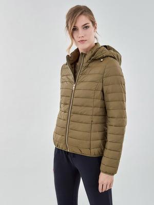 Куртка оливкового кольору   5154347