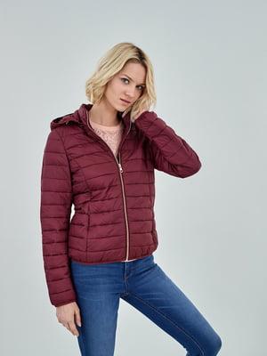 Куртка бордовая | 5154349