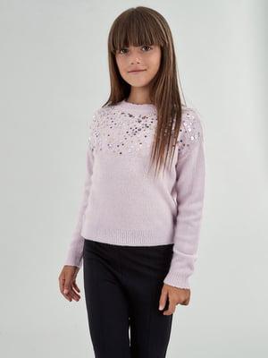 Джемпер розовый | 5154733
