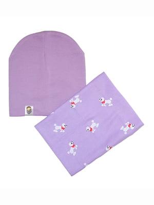 Комплект: шапка и шарф | 5168572