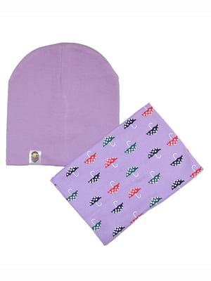 Комплект: шапка и шарф | 5168573