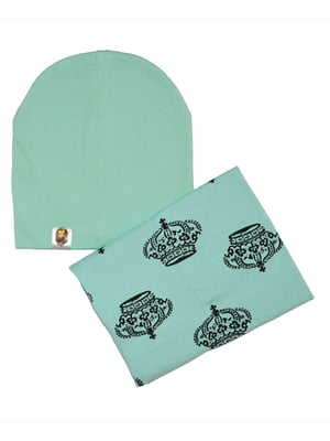 Комплект: шапка и шарф | 5168577