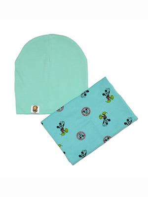 Комплект: шапка и шарф | 5168578